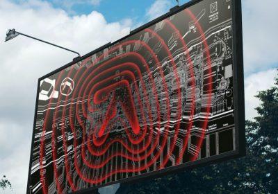 В мегаполисах появилась реклама с логотипом Aphex Twin