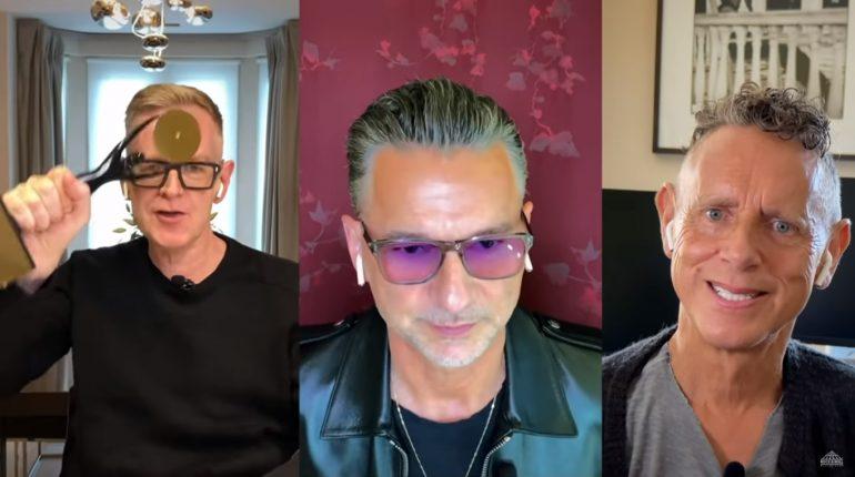 Depeche Mode вошли в Зал славы рок-н-ролла: смотрите речь группы