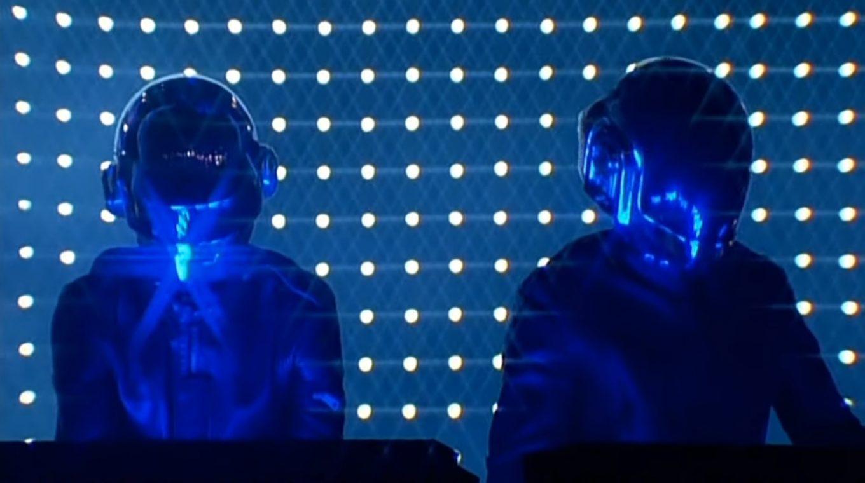 Смотрите новую запись концерта Daft Punk в Чикаго 2007 года